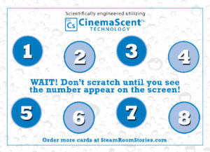 CinemaScent Scratch & Sniff